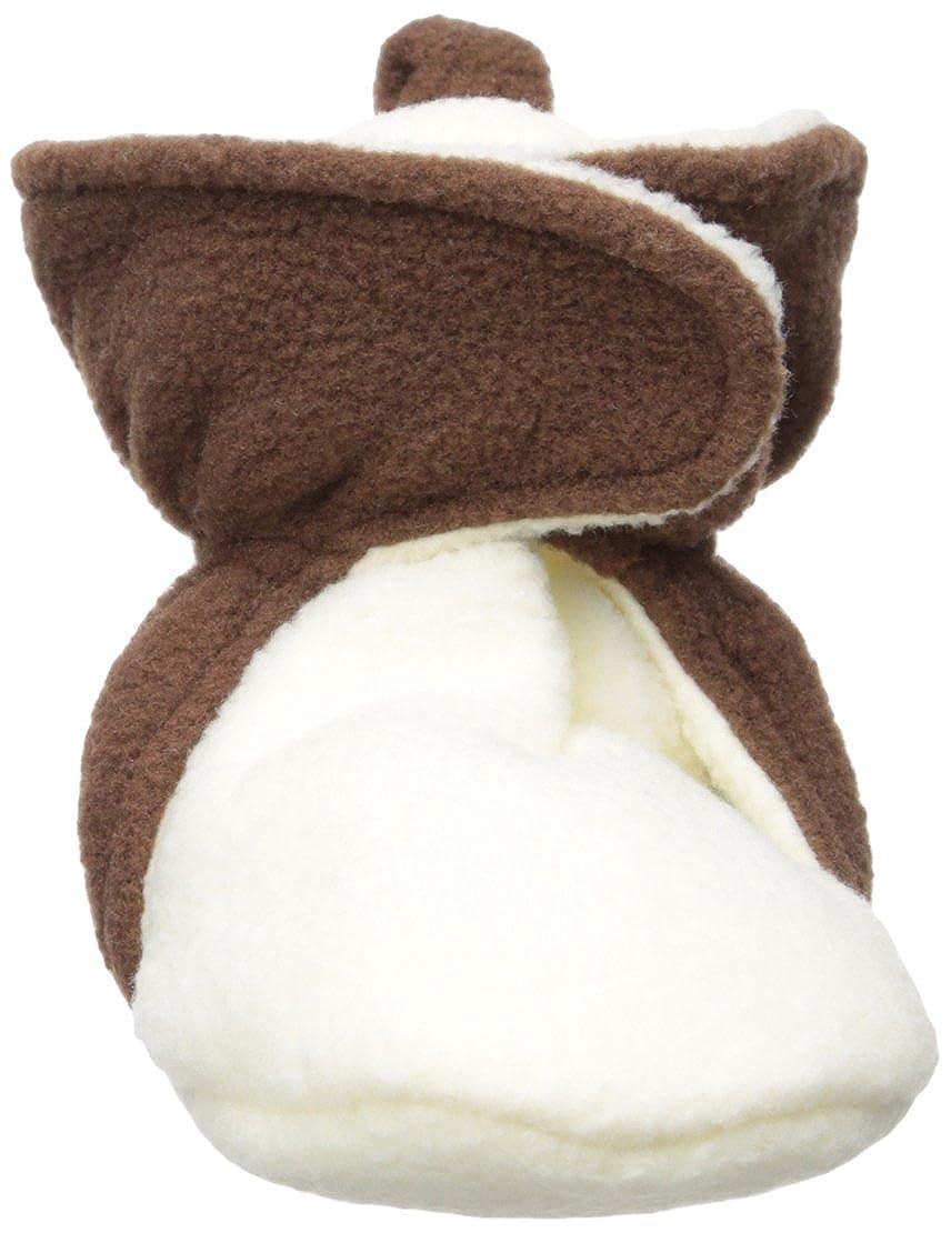 Hudson Baby Unisex Baby Cozy Fleece Booties with Non Skid Bottom