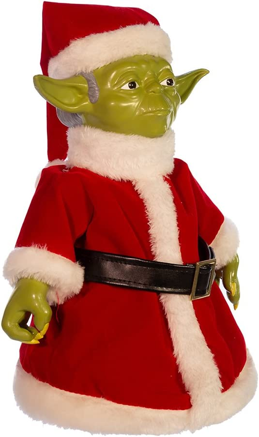 Kurt Adler Classic Yoda Table Piece/Treetop Figurine, 10-Inch