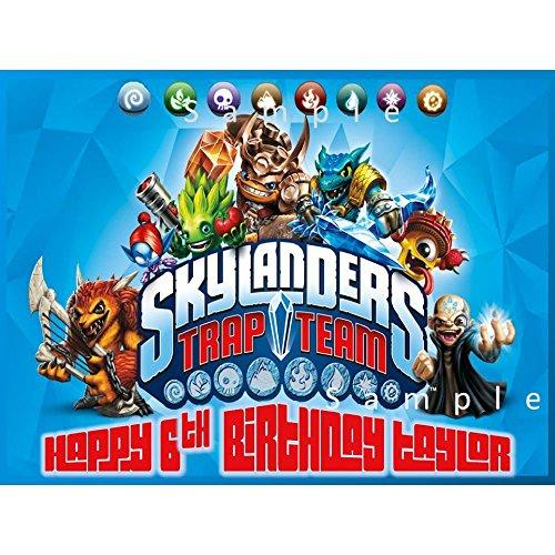 Skylanders Cake Topper Amazon