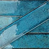 Alchimia 3x12 Blue (Sold by:BOX/5.38 SQ.FT.) TLCFALCMBLU3X12