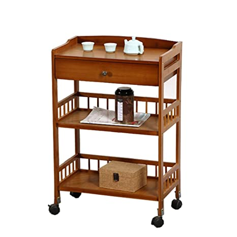 Amazon.com: Carrito de comedor enrollable para cocina ...