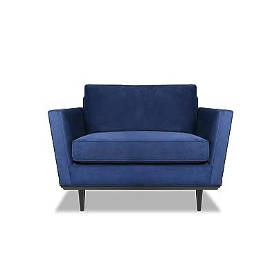 South Cone Home Deanvelch Dean Accent Chair, Blue
