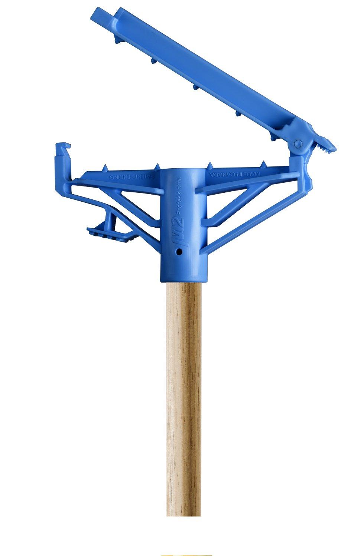 60'' Step-N-Go Wood Mop Handle (Case of 12)
