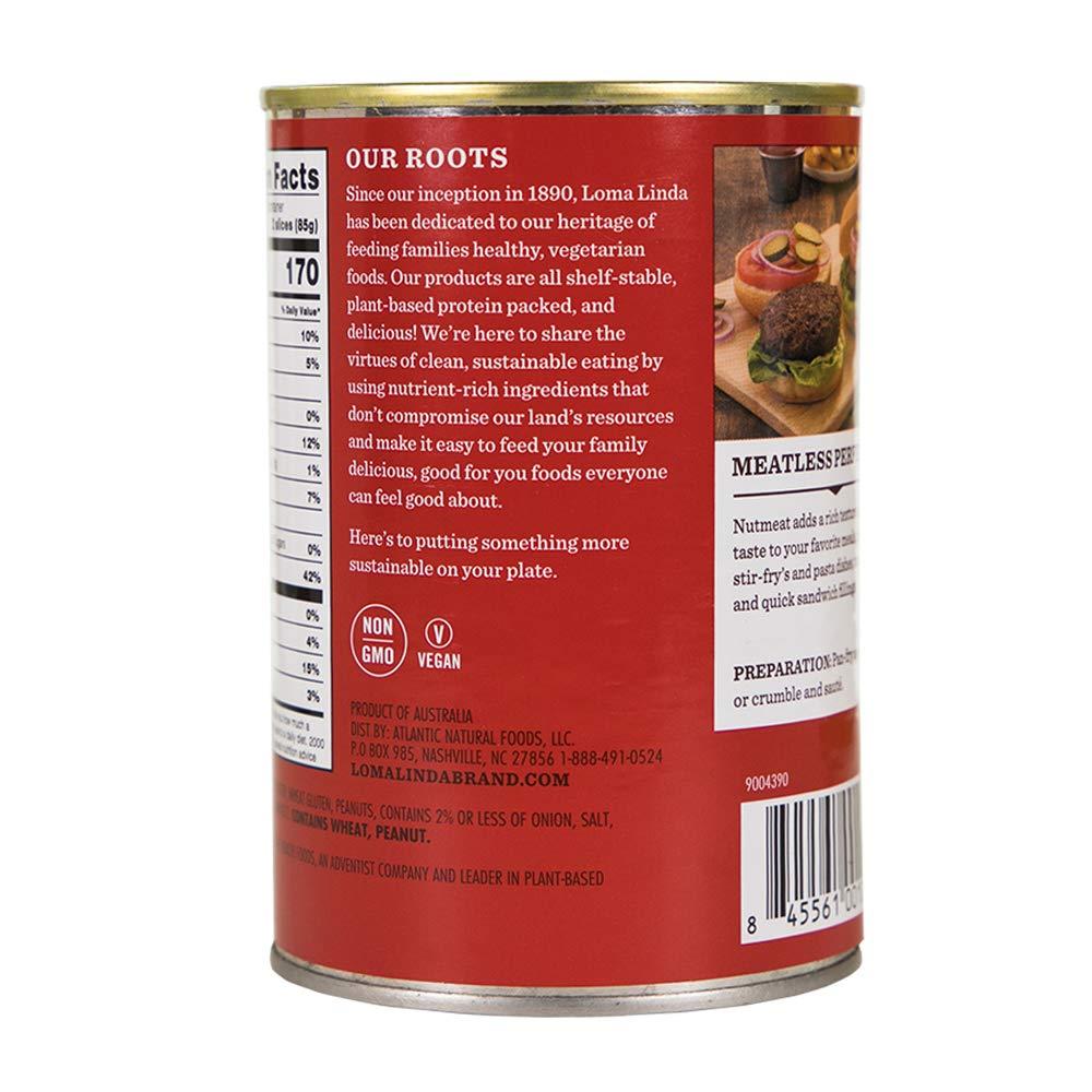 Loma Linda - Plant-Based - Nutmeat (14.6 oz.) (Pack of 6) - Kosher by Loma Linda (Image #6)
