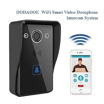 Timbre Inalambrico Infrarrojo Detector Movimiento Wifi Infrarrojo Audio Doble Vi