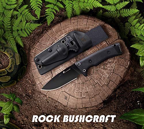 Amazon.com: HX Outdoors Rock 9in Bushcraft Cuchillo Dagger ...