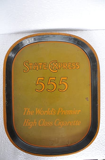Buy Traders Of Lost Art Vintage Brass State Express 555 Cigarettes Ad Litho Tin Tray Online At Low Prices In India