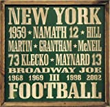 New York Jets Vintage Style Wood Sign-18x18