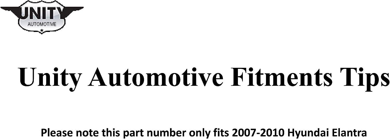 Unity Automotive 11576 Front Right Complete Strut Assembly 2000-2001 Nissan Sentra 1 Pack