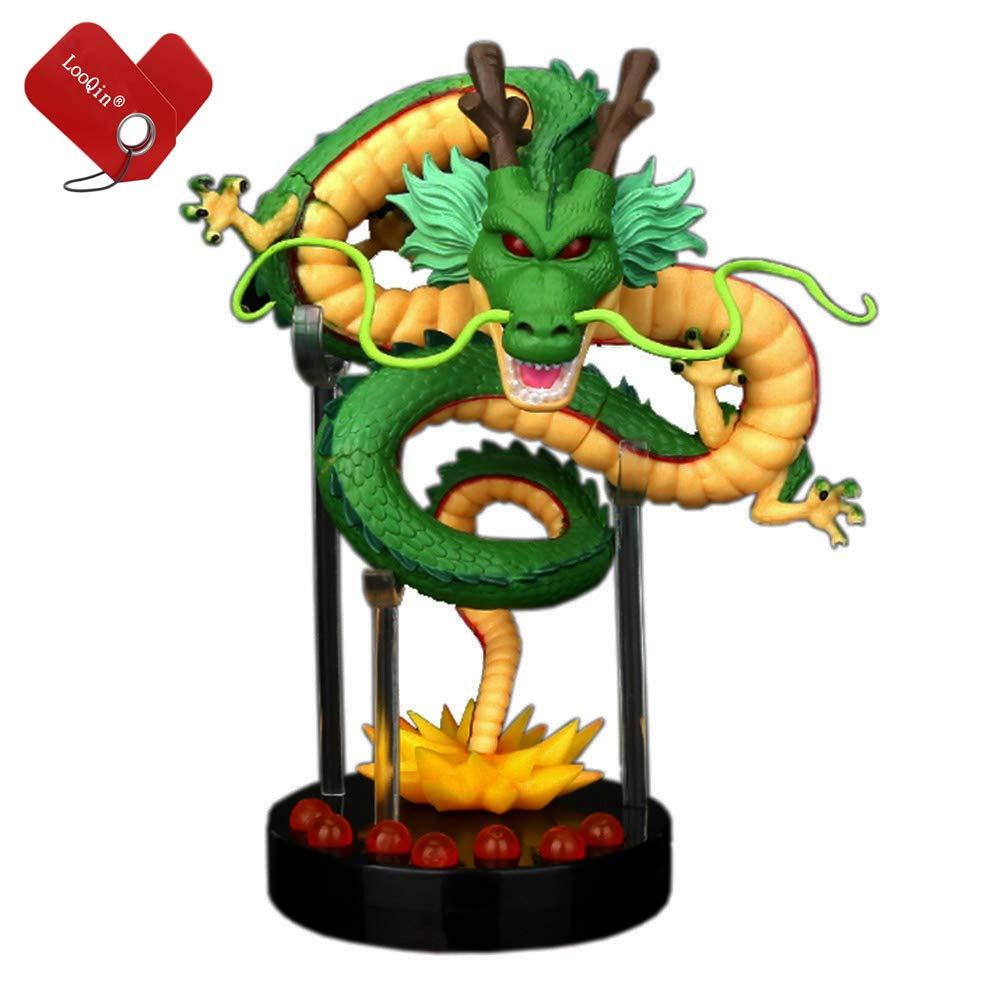 LooQin Cartoon Shenron ShenLong Dragon PVC Action Figure Set Collectible Model Toy 5.5inch