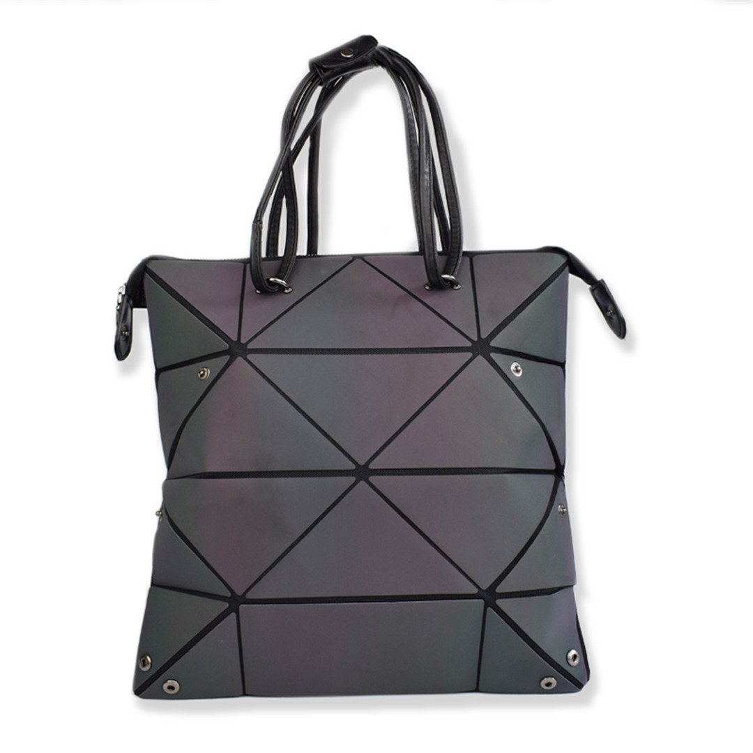 Amazon.com: Luminous Baobao Luxury Geometry Women Bags ...