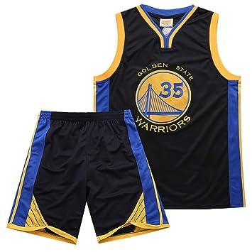 PPXJERSEY Camiseta De Baloncesto Warriors Durant 35 Traje ...
