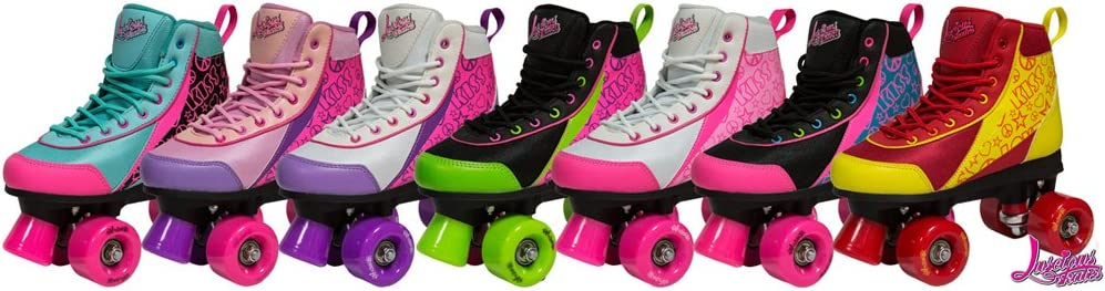 Luscious Retro Quad Roller Skates / UK