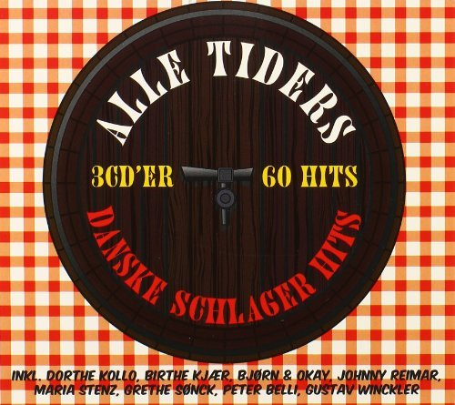 Alle Tiders 3 CD'er 60 Hits: Danske Schlager Hits by Johnny Reimar (2008-08-03)