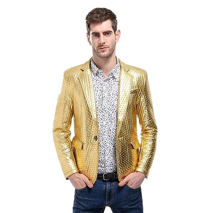 STRIR Trajes Hombre Chaquetas Casual Un Botón Apto Fit Suit ...