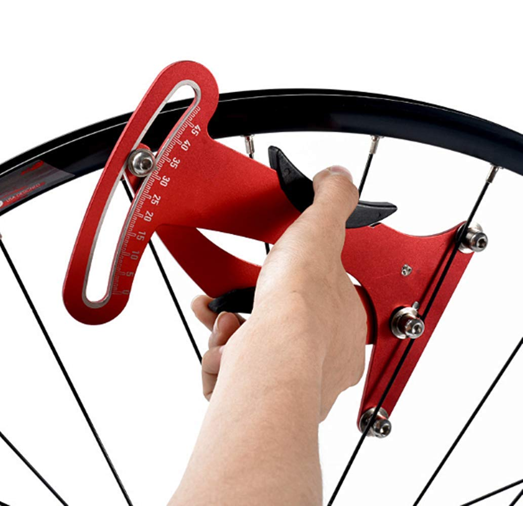 Juego de rueda de tensión para radios de bicicleta, corrección de llanta, medidor de tensión, herramienta de ajuste: Amazon.es: Amazon.es