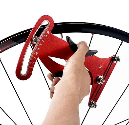 ZTTO //Bike //bicycle Spoke Tension Meter Wheel Steel Ring Correction Gauge Tool