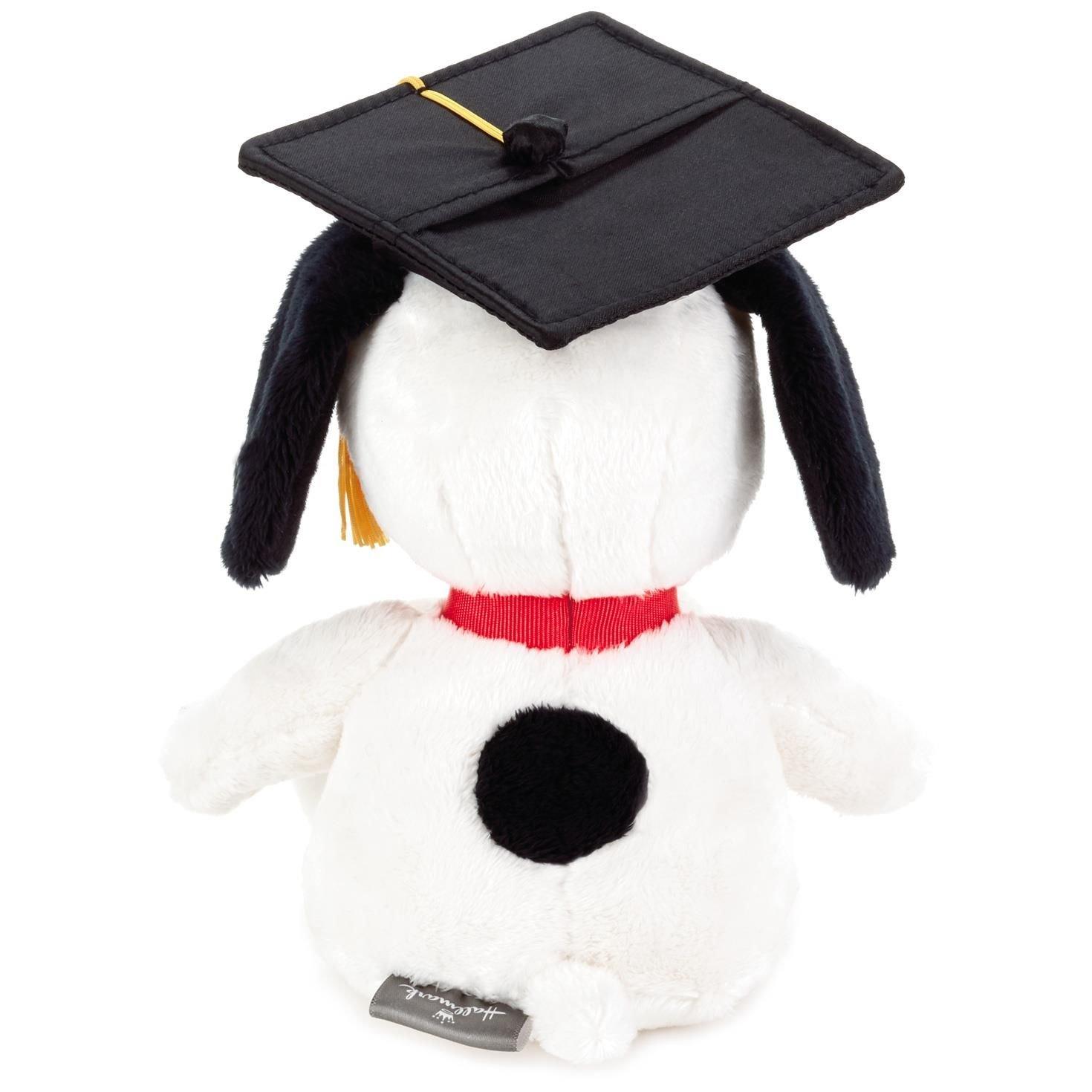 Snoopy 2018 Graduation Stuffed Animal Gift Card Holder Classic