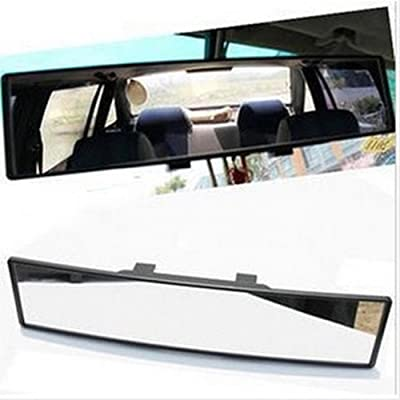 """u-Box Car Rearview Mirrors, 12"""" Car Universal Wide Angle Rear View Mirror, 300mm Wide Convex Curve Interior Clip On Panoramic Rear View Mirror: Automotive"""