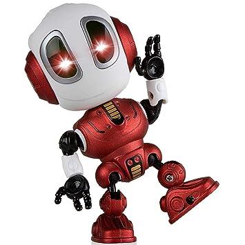 JugueteColoridas Niños Robot InteligenteMini De Luces jLcq54AR3
