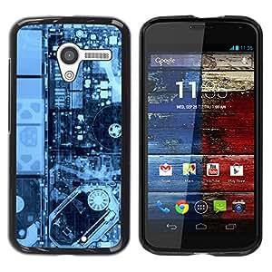Stuss Case / Funda Carcasa protectora - Electrónica Pcb Hdd X Ray Pc - Motorola Moto X 1 1st GEN I