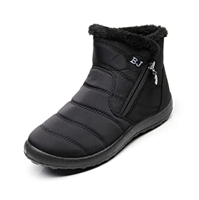 The Best Womens Waterproof Winter Boots No Slip Light Weight