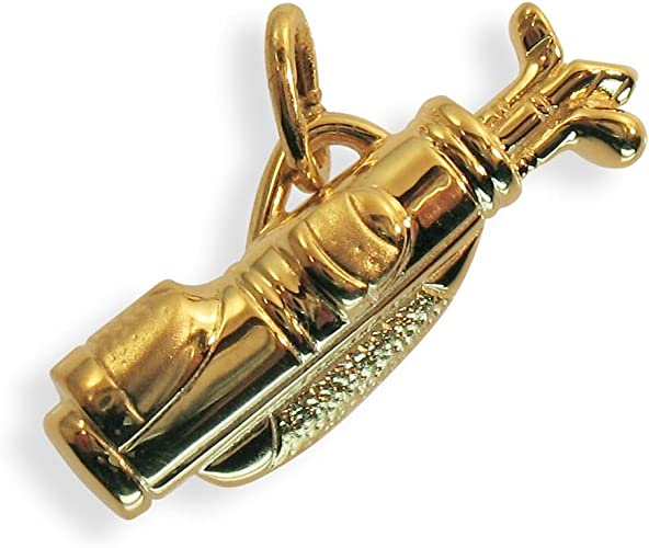 Art.207062 Anh/änger Charm Golfsack Golfbag echt 8 Karat Gold