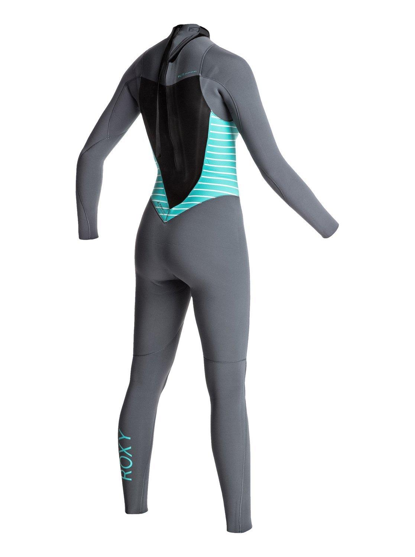 Back Zip GBS Wetsuit Blue Ash//Pistaccio 8G Girls 8G Roxy Girls 3//2Mm Syncro Series