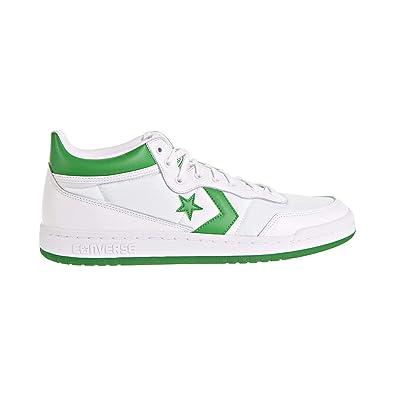 d051ff32dc1ab7 Converse Fastbreak 83 MID White Green White   12 Mens   13.5 Womens   Amazon.co.uk  Shoes   Bags