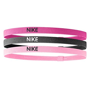 online store 98716 dda2c Nike Women s Elastic Hairbands - Pack Of 3 Headband pink   Black   Pink   Amazon.co.uk  Sports   Outdoors