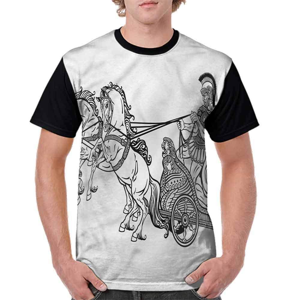 BlountDecor Round Neck T-Shirt,Underwater Wildlife Fun Fashion Personality Customization
