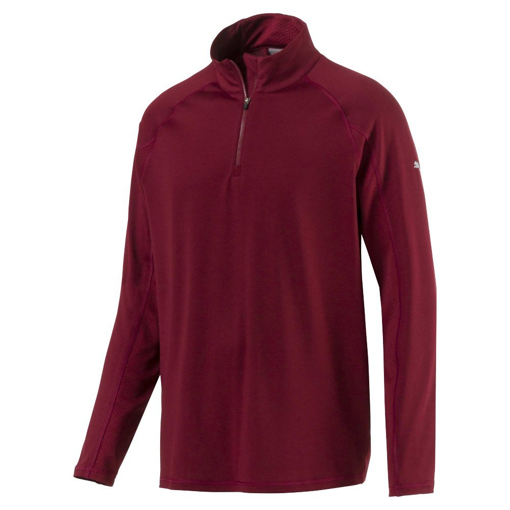 Puma Golf Men's 2017 Core 1/4 Zip Popover, XX-Large, Pomegranate by PUMA