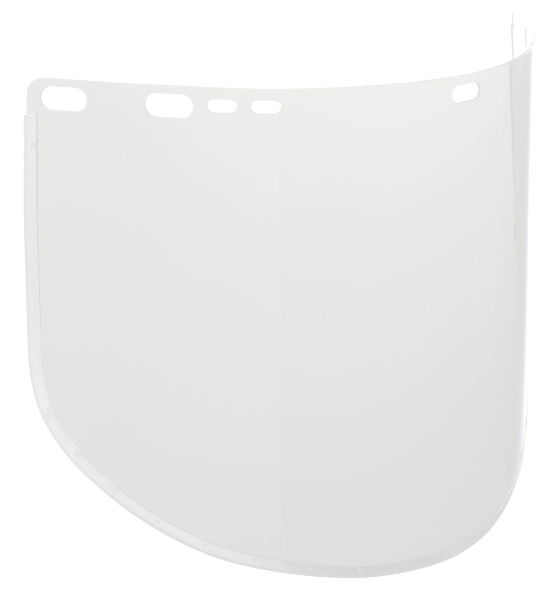 Jackson Safety F30 Acetate Aluminum Bound Face Shield, 15-1/2'' Length x 9'' Width x 0.040'' Thick, Clear (Case of 50)
