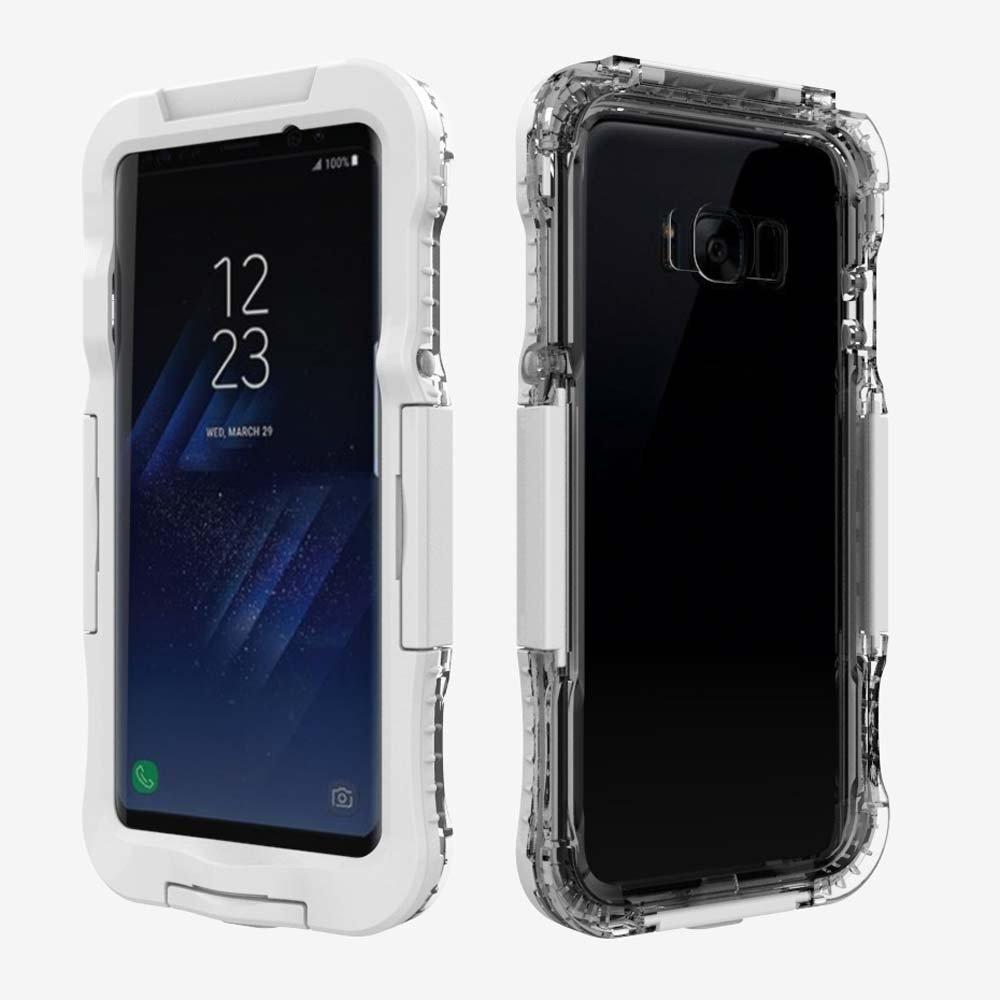 5,8 Zoll F/ür Samsung Galaxy S8 H/ülle,Colorful Wasserdichte//Sto/ßfest//Staubdicht Schutzh/ülle -Schwarz eingebaute Display schutzfolie,Outdoor Handyh/ülle Case f/ür Samsung Galaxy S8