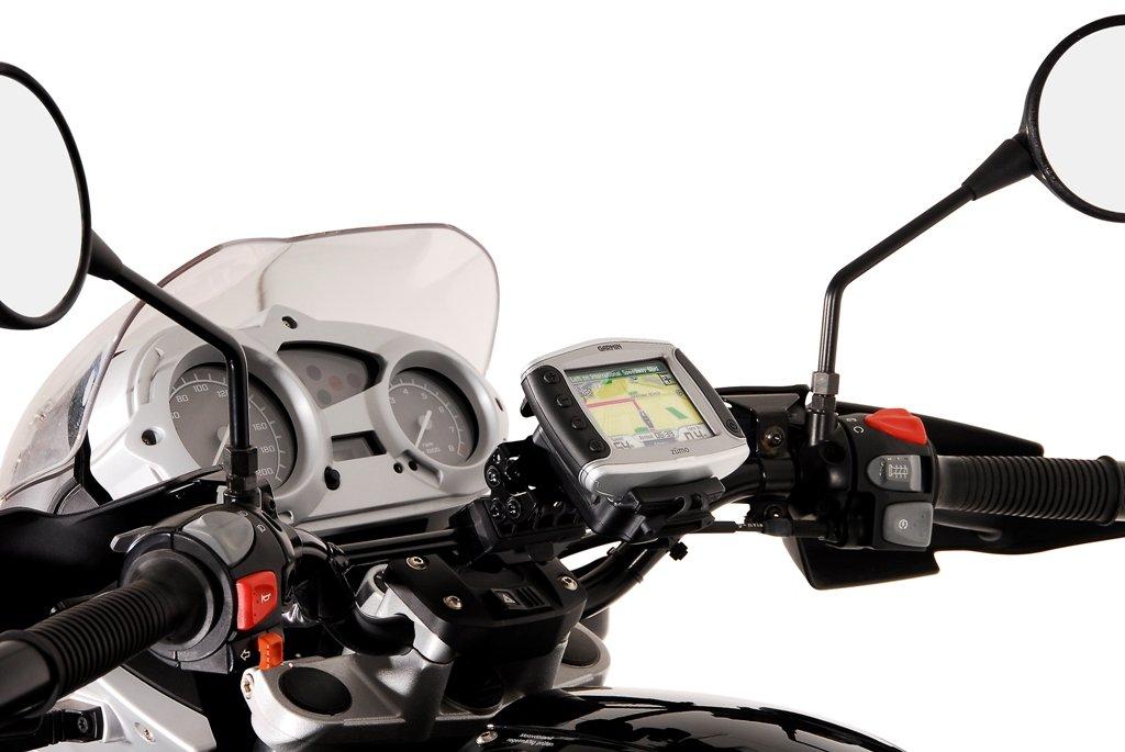 SW Motech GPS 00.646.10500/B Type Bracket to Tube Ř 10/12mm, Black, OS