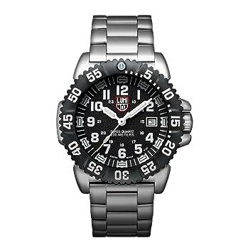 c2a212ca9c52 Luminox Navy SEAL Steel Colormark Men s Quartz watch with Black dial  featuring LLT Luminox light Technology