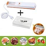 ROGUCI Conservation des aliments Appareil de Mise Sous Vide ,M▒nage ▒lectrique Alimentation automatique Vacuum Sealer machine ▒ emballer Emballeuse d'emballer aliments