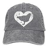 chicken bucket hat - Men and Women I Love Chickens 1 Vintage Jeans Baseball Cap