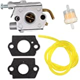 Tuzliufi Carb Carburetor for Strike Master for Jiffy TC300,for Tecumseh 632941A 632941B 632941C 632979 640231 640231A 640901 640911 Lawn and Garden Equipment New Z339 for Tillotson