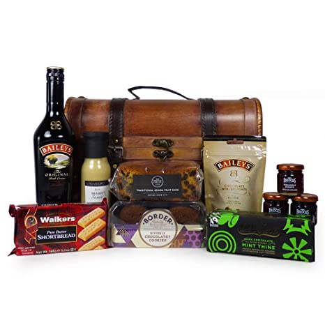 Licor de Baileys con delicadezas en The Woods Wine Carrier - El regalo ideal para el