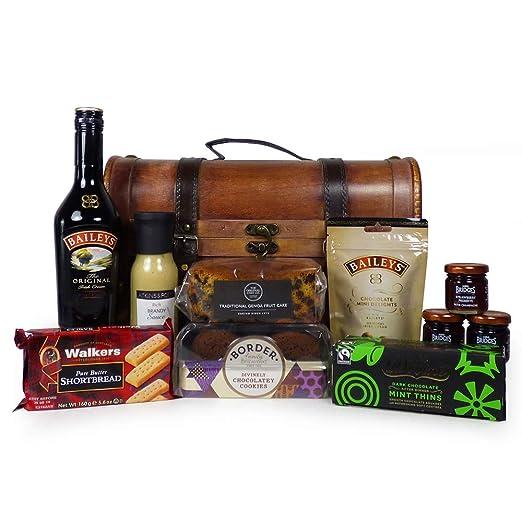 Licor de Baileys con delicadezas en The Woods Wine Carrier - El regalo ideal para el
