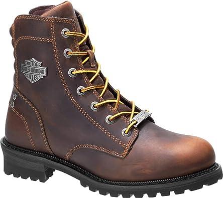 Harley Davidson D93552 - Botas para hombre, color marrón