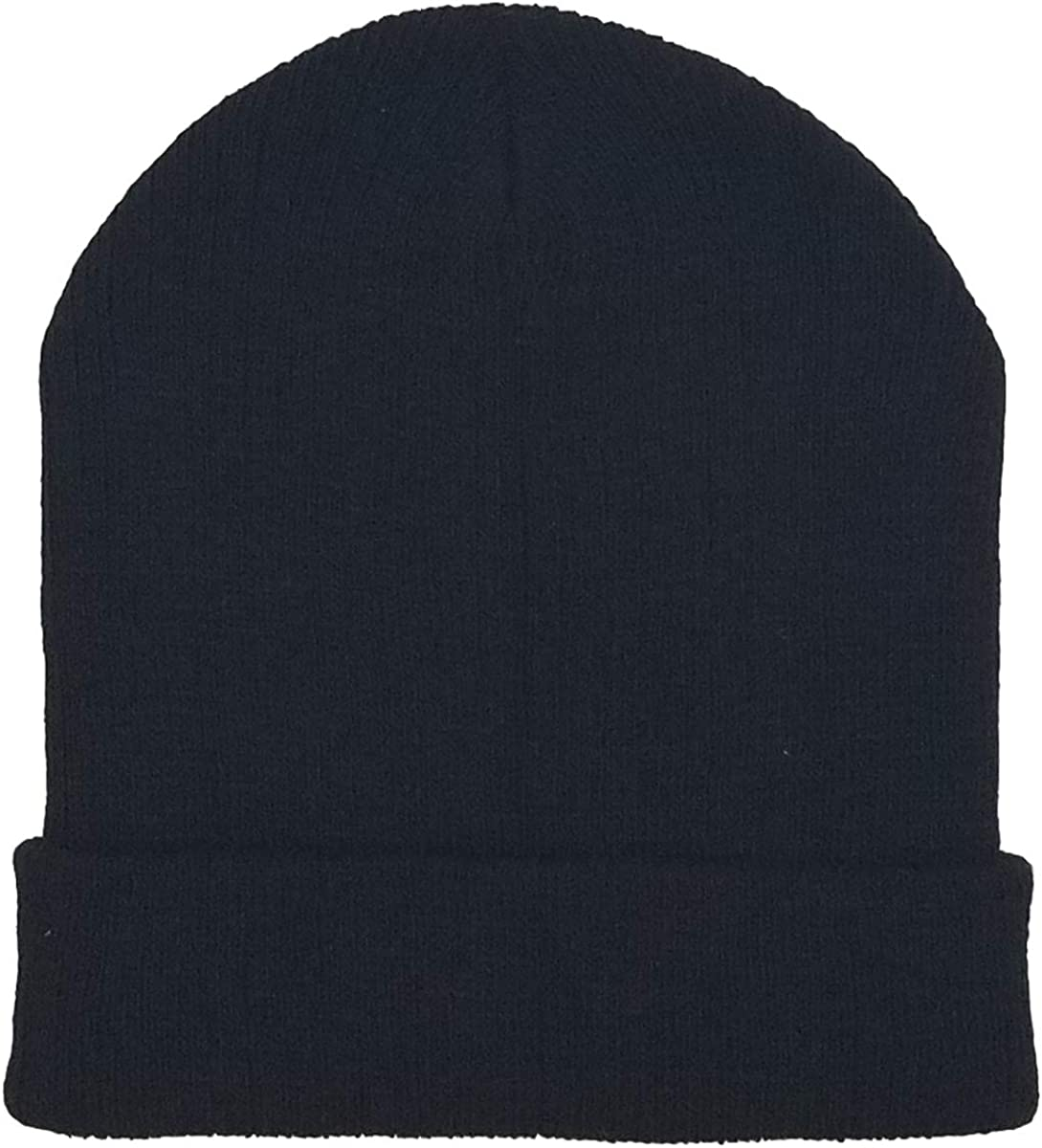 12 Pack Winter Beanie Hats for Men Women, Warm Cozy Knitted Cuffed Skull Cap, Wholesale at  Men's Clothing store