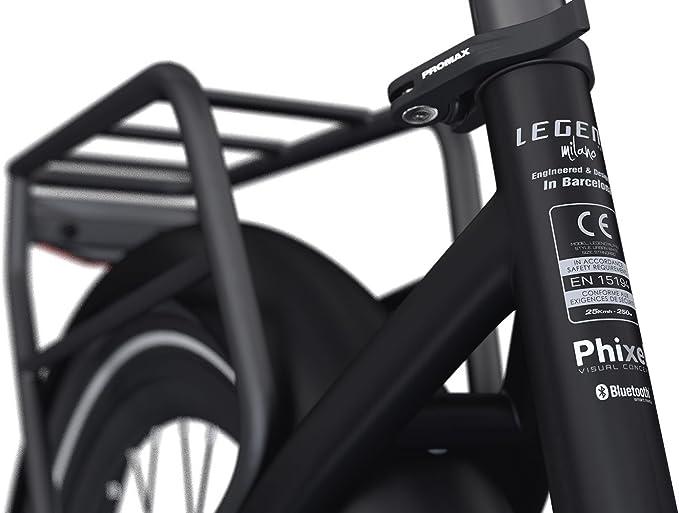 LEGEND EBIKES Milano 36V14Ah Bicicleta Eléctrica Plegable, Unisex ...
