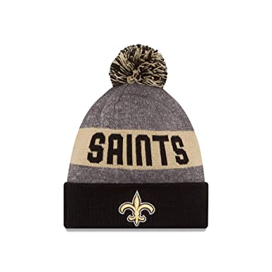 Amazon.com  New Orleans Saints NFL Winter Sport knit hat  Clothing 884886505fb