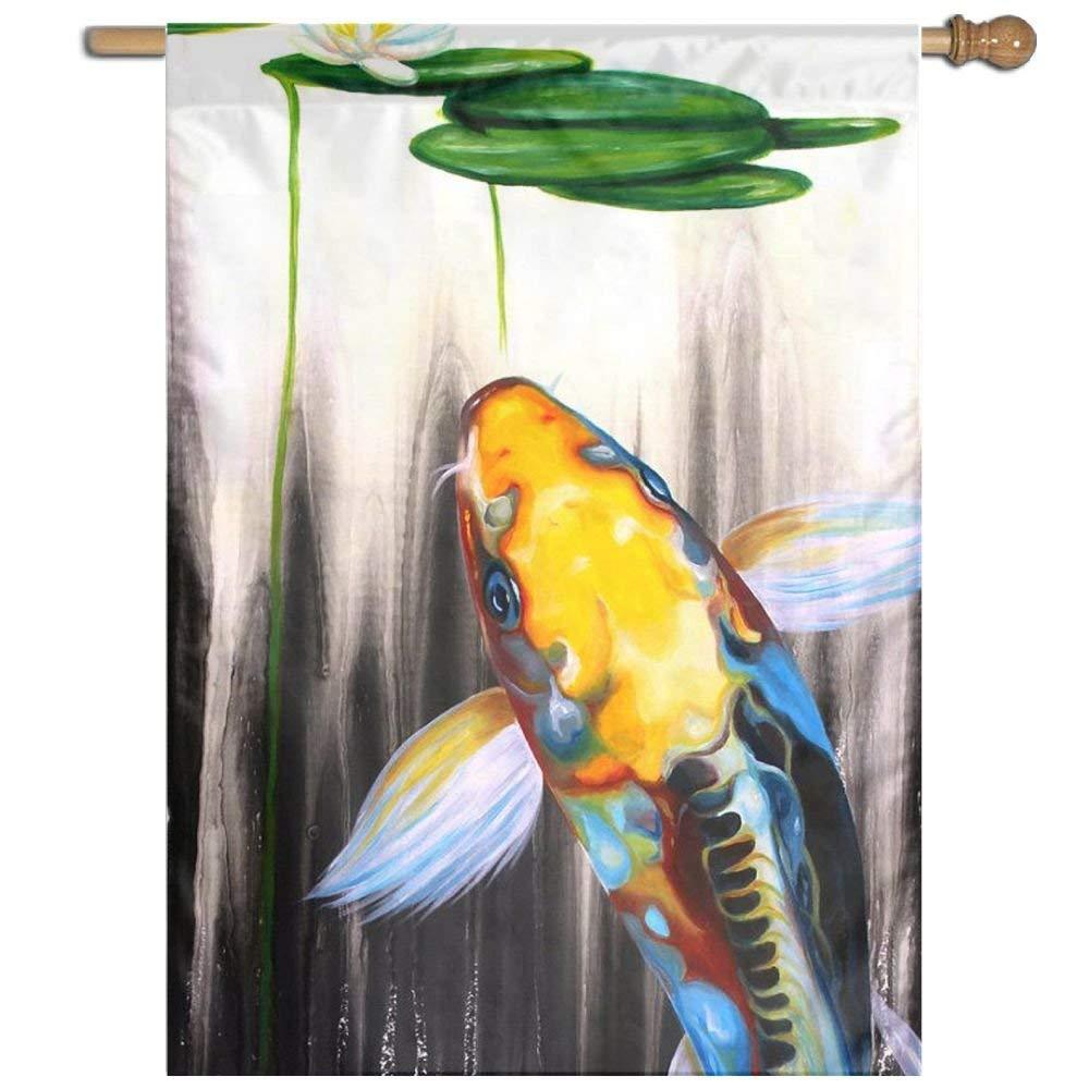 Dozili Bandera natación, decoración del hogar, jardín Resistente a a a la Intemperie y Bandera de Doble Cara, poliéster, Colorful, 28