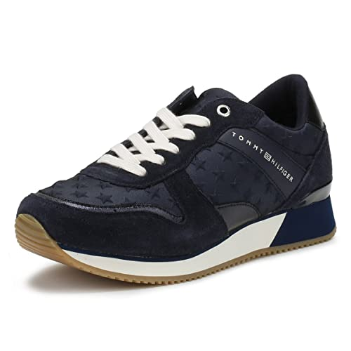 Tommy Hilfiger Mujer Midnight Azul Marino Star Zapatillas-UK 7: Amazon.es: Zapatos y complementos