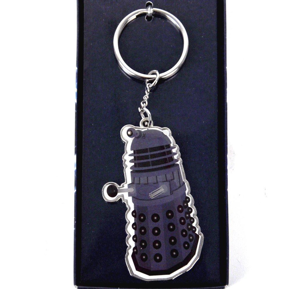 Doctor Who Dalek metal llavero: Amazon.es: Coche y moto