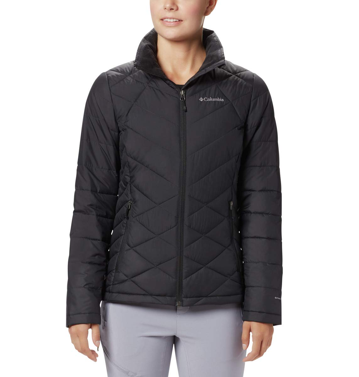 Columbia Women's Heavenly Jacket, Black, 2X by Columbia