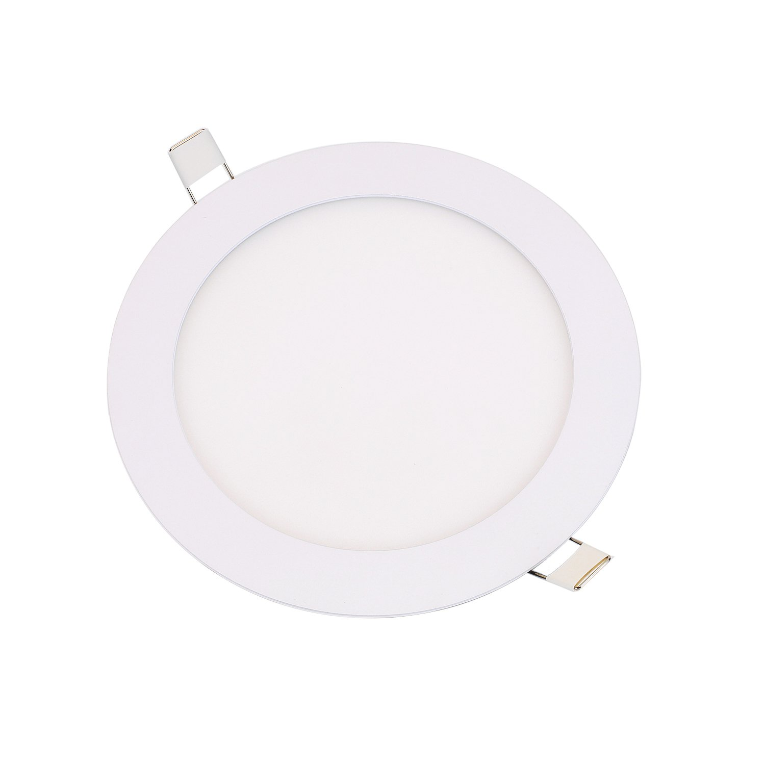 Zoostliss 12w 6'' Cool White Ultra Thin Led Panel Downlight Round Ceiling Recessed Spot Light Panel lamp (10PCS) by Zoostliss (Image #3)